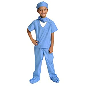 Aeromax Jr. Doctor Scrubs, available in Blue or Pink - 31hTiwrvqqL - Aeromax Jr. Doctor Scrubs
