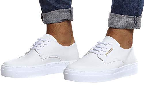 LEIF NELSON LN153, Sneaker uomo Bianco