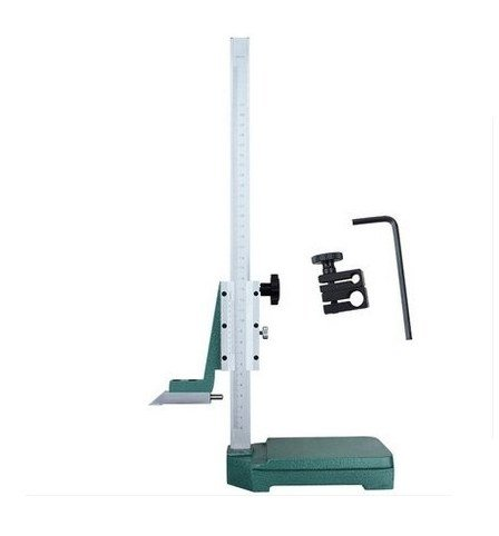 GOWE 0-500MM hand wheel height vernier calipers pilot wheel altitude slide gauge trolley wheel high slide caliper 0