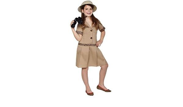 Disfraz de Exploradora Safari niña: Amazon.es: Juguetes y juegos