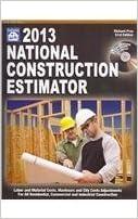 National Construction Estimator 2013 (National Construction Estimator (W/CD))
