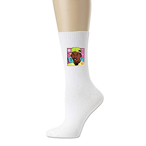 Fresh Prince Of Bel-Air Unisex Woman's Mans Dress Funny Crazy Winter Warm Crew Socks