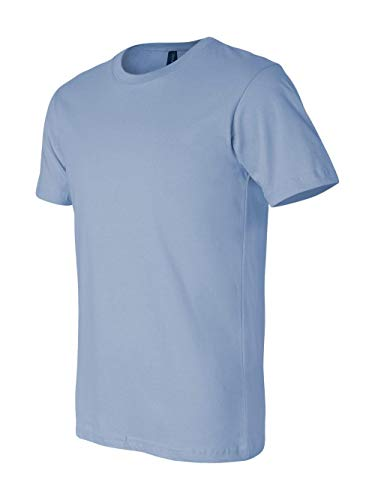 Bella+Canvas Unisex Jersey Short Sleeve Tee, Baby Blue, Small