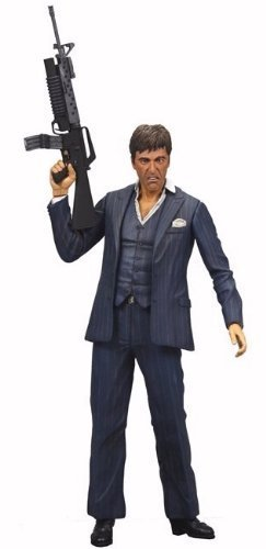 NECA Scarface Tony Montana Blue Suit 7