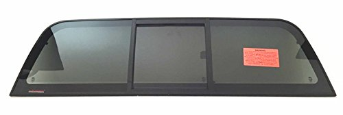 Nissan Frontier 2 Door (1998-2004 Nissan Frontier 2 & 4 Door Pickup Sliding Rear Window Glass Back Slider)