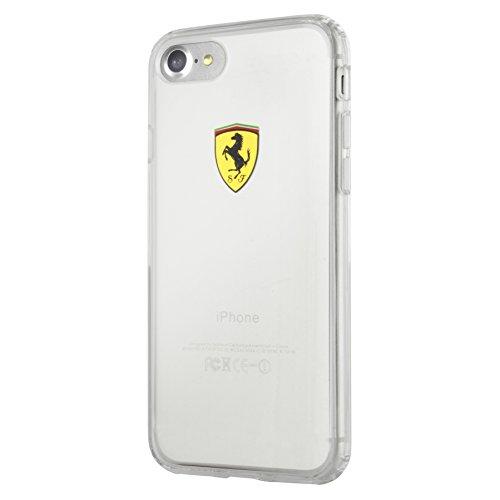 Ferrari fehc p7ltr1Protection en TPU pour Apple iPhone 7Plus, Racing Shield Transparent