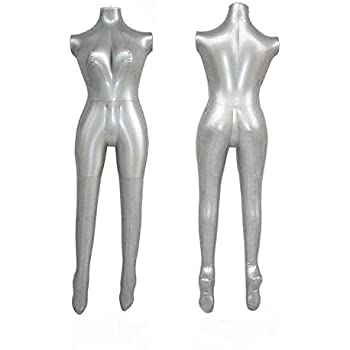 Amazon.com: Hinchable modelo femenino maniquí Torso sin ...
