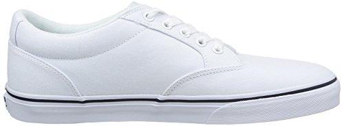 Vans Winston, Zapatillas Para Hombre blanco - Weiß ((Canvas)Wht/Nvy 1XE)