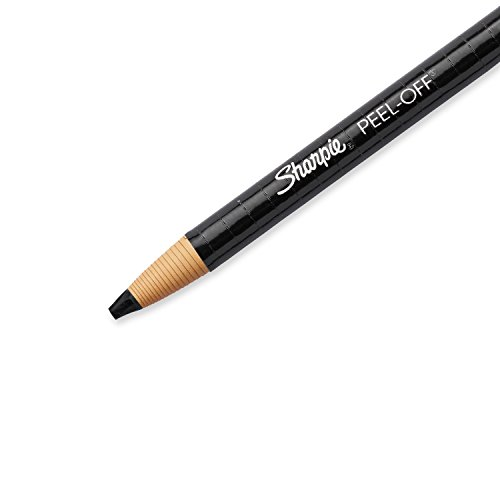 Sharpie 2173PP Peel-Off China Markers, Black, 2-Count by Sharpie (Image #2)