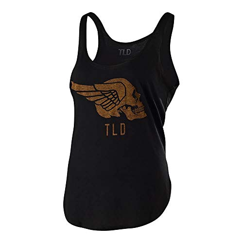 Troy Lee Designs Women's Agent Skully Tank Top (Medium, Black) ()