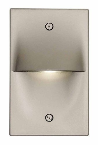 DVI Lighting DVP10708SS Indoor/Outdoor Steplight with No Shades, Stainless Steel Finish