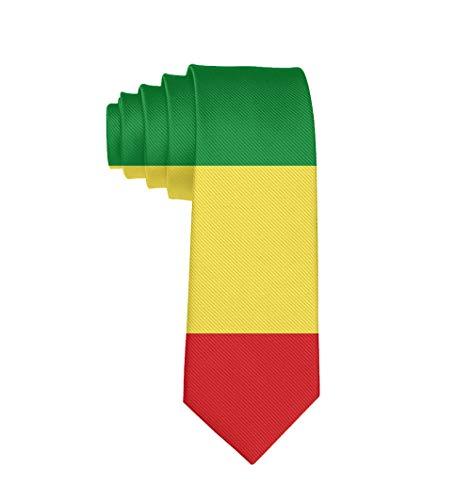 Mens Classic Neck Tie, Suit Accessories Formal Tie, Ethiopian Flag Party Wedding Neckties]()