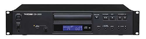 Tascam CD-200 Rackmount Professional CD Player