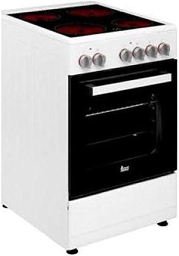 Teka Cocina vitrocerámica de Libre instalación FS 502 4VE WH ...
