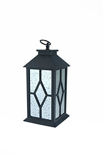 YaCool Decorative Garden Lantern - Vintage Style Hanging Lanterns Outdoor Lighting Garden Light - Battery-Operated 6 Hour Timer- 12' (016) by YaCool
