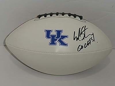 Mark Stoops Signed Football Kentucky Wildcats Proof Coach