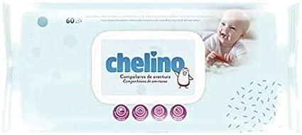 TOALLITAS CHELINO PACK DE 12 PAQUETES DE 60 TOALLITAS: Amazon.es: Belleza