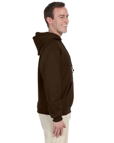 JERZEES Mens NuBlend Pullover Hooded Sweatshirt, 2XL, (Seamless Hoodie Top)