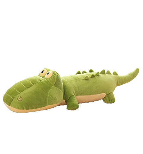 AIXINI Crocodile Plush Toy Large Jumbo Alligator Stuffed Animal Dolls Child Pillow Cushion - Super Soft Toy for Kids Gift Party Favors (31.5inch) by AIXINI