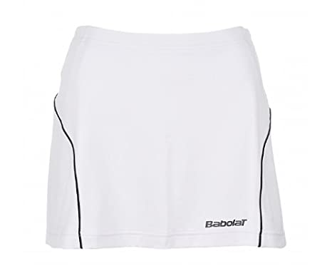 Babolat Rock Club Women - Falda pantalón (skorts) de tenis, color blanco, talla L: Amazon.es: Deportes y aire libre