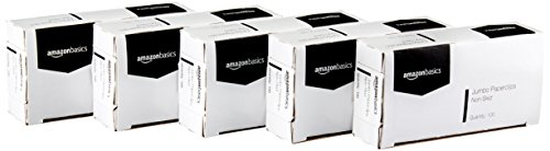 AmazonBasics Jumbo Paper Clips, Nonskid, 100 per Box, 10-Pack