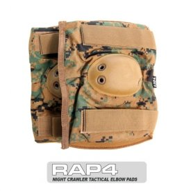 Night Crawler Tactical Elbow Pads (Digital) - paintball elbow pads by RAP4