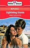 Lightning Storm by Anne McAllister front cover