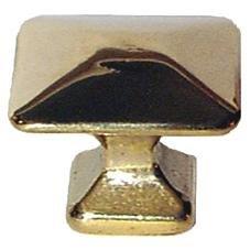 (K-63 Large Arts & Crafts Mission Brass Knob Antique Cabinet, Vintage Cupboard, Old Desk Reproduction Restoration Hardware + Free Bonus (Skeleton Key Badge))