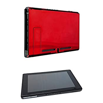 Image of Chrome Red Custom Console for Nintendo Switch (Tablet Only) Consoles