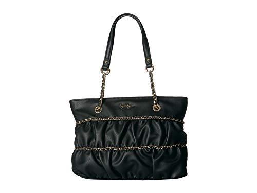 Jessica Simpson Women's Aster Tote Black One Size (Jessica Simpson Handbags Black)