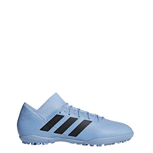 (adidas Men's Nemeziz Messi Tango 18.3 TF Ash Blue/Black/Raw Grey 8.5 D US D (M))
