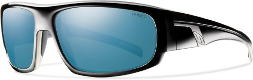 Smith Optics Terrace Sunglasses, Black, Polarized Blue - Smith Prescription Sunglasses
