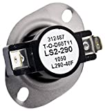 GE WE4M80 Thermostat Safety for Dryer