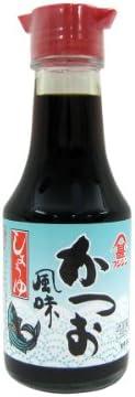 富士甚 かつお醤油 卓上タイプ (150ml) しょうゆさし付き 瓶
