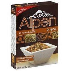 Simply Organic B62216 Weetabix Alpen All Natural Muesli Cereal Original - 12x14Oz