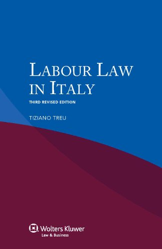 Labour Law in Italy. 3rd revised edition