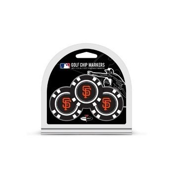 San Francisco Giants Team Ball (MLB San Francisco Giants 3 Pack Golf Chip Ball Markers)