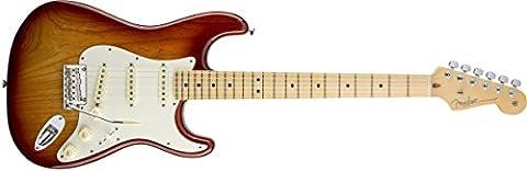 Fender American Standard Stratocaster, Maple Fingerboard - Sienna Sunburst - Maple Sunburst