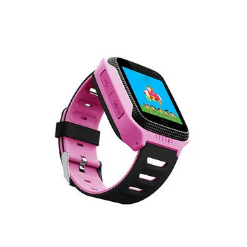 DS09 1.4inch Touch Screen LBS Location SOS Phone Call Camera Flashlight Kids Smart Watch - Smart Watch & Band Watch Phone - (Pink) - 1 Kids Smart Watch