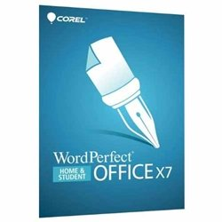 - Corel WordPerfect Office X7 Home & Student Edition - Complete Product - 1 User - Office Suite - Standard Mini Box Retail - PC - English - WPOX7HSENMB