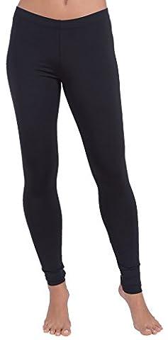 Steve Madden Womens Solid Intimate Leggings Black S