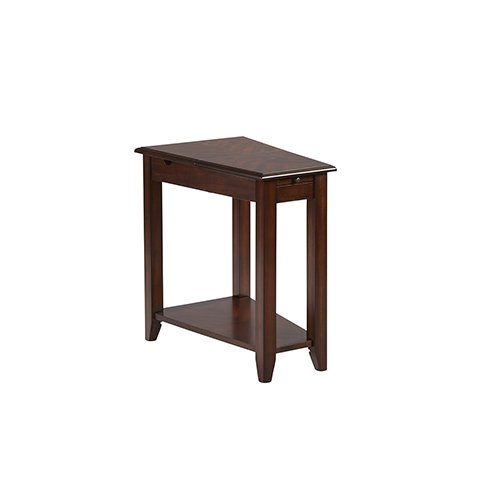 Cherry Finish Chairside Table - Progressive Furniture Chairsides II Medium Cherry Chairside Table