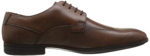 Clarks Derry Over GTX 203590317 - Zapatos de cuero para hombre, color marrón, talla 39.5 Marrón (Walnut Leather)