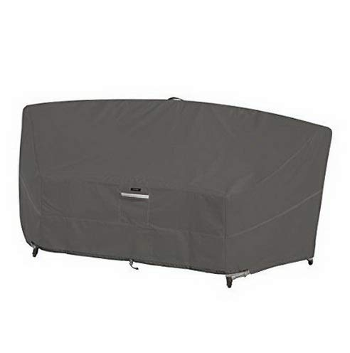 Dokis Ravenna Patio Curved Modular Sectional Sofa Cover | Model SF - 128