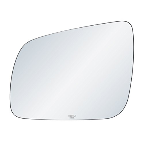 - exactafit 8132L Replacement Driver Left Side Mirror Glass Flat Lens fits 08-12 Mitsubishi Lancer by Rugged TUFF