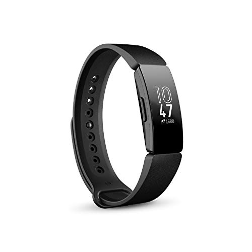 Fitbit Inspire Fitness Tracker, One Size (S & L bands included) (Fitbit Flex Vs Charger)