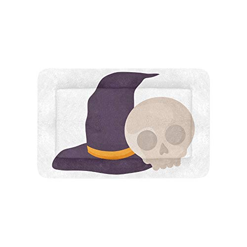 Yngxil Witch Hat Design Halloween Extra Large Bedding Soft Pet Dog Beds Couch for Puppy and Cats Furniture Mat Cave Pad Cover Cushion Indoor Gift Supplier 36 X 23 Inch]()