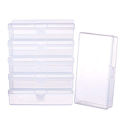 rectangle clear container - 6