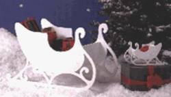(A Woodworking Pattern and Instructions Pkg to Build a Medium and Tabletop Size Sleigh)