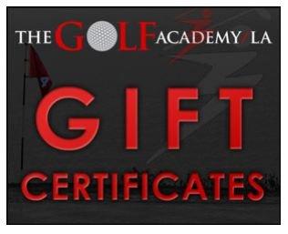 The Golf Academy LA Gift Card - $350